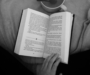 book, tea, and best book image