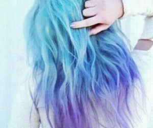 color, color hair, and ombre hair image