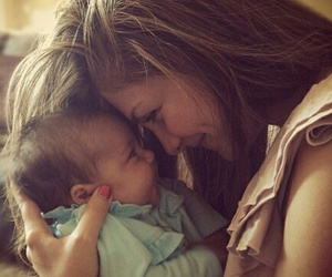 love, baby, and mother image