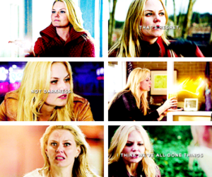 actress, Jennifer Morrison, and once upon a time image
