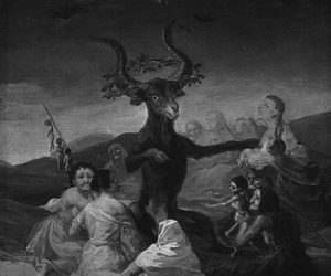art, goya, and witch image