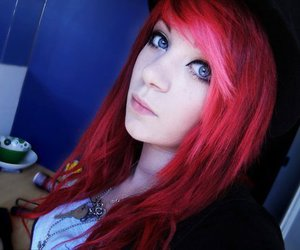 girl, red hair, and alternative image
