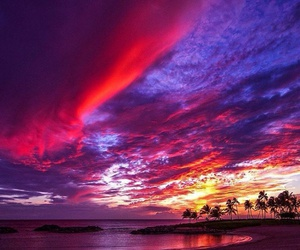sky, hawaii, and beach image