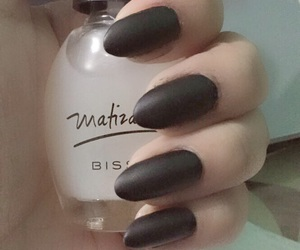 black, nails, and witch image