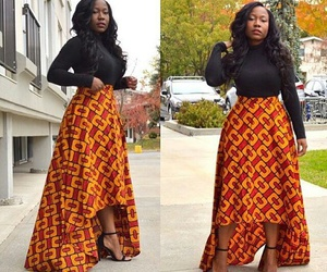 black girl, dress, and outfit image