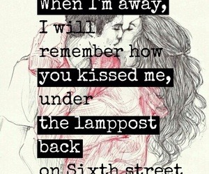 kiss, music, and love quotes image