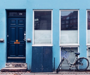 blue, travel, and building image