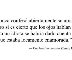 amor, love, and cumbres borrascosas image