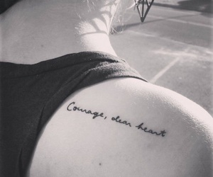 tattoo and courage dear heart image