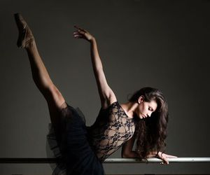 dance, ballet, and black image