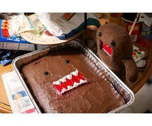 cake, domo, and cute image