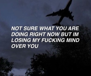 quotes, grunge, and mind image