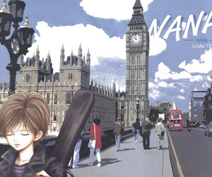 guitare, Londres, and shin image