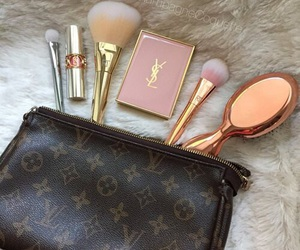 makeup, YSL, and make up image