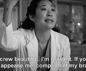 grey's anatomy, quotes, and brain image