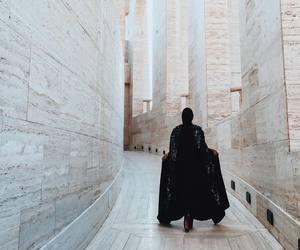 hijab, fashion, and black image