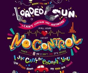 one direction, no control, and Lyrics image