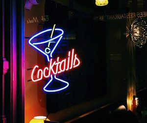 amsterdam, vintage, and cocktail image