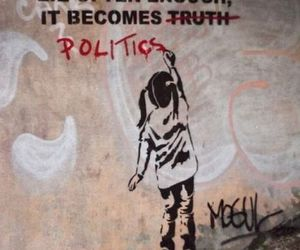politics, lies, and truth image