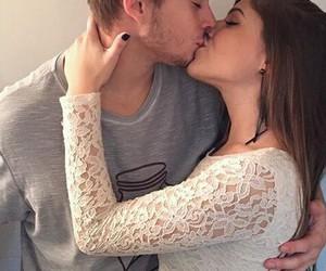 couple, kiss, and inspiration image