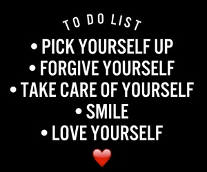 smile and love yourself image