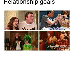 couple, goals, and himym image