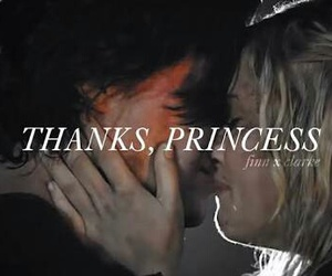 the 100, finn collins, and flarke image