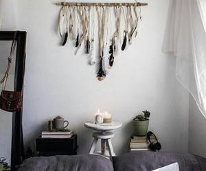 decor, bedroom, and cozy image