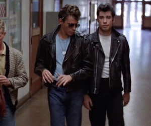 grease and John Travolta image