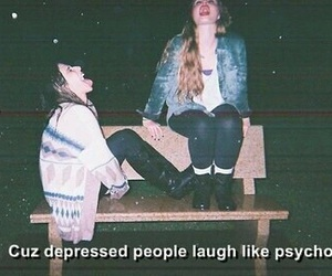 grunge, depressed, and Psycho image