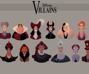 disney, villains, and princess image