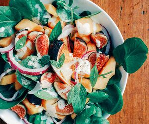 food, fig, and healthy image