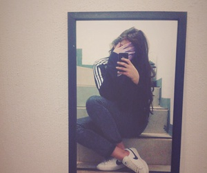 adidas, hair, and outfits image