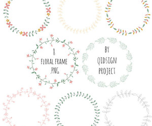 etsy, floral clipart, and floral images image