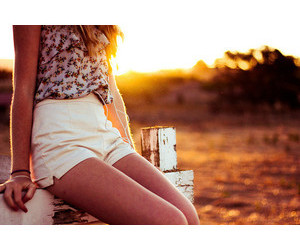 girl and summer image