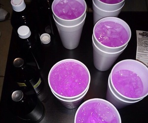 drink, purple, and party image