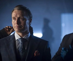 actor, hannibal, and mads mikkelsen image
