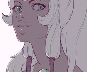 opal, steven universe, and amethyst image