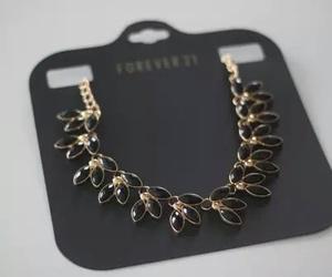 elegant, fashion, and necklace image