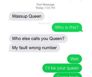 funny, Queen, and text image