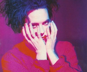 robert smith, the cure, and music image