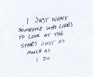 stars, quotes, and love image