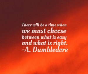 dumbledore, easel, and font image