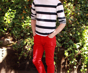 gay and red pants image