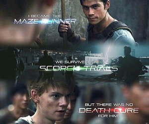 newt and thomas image