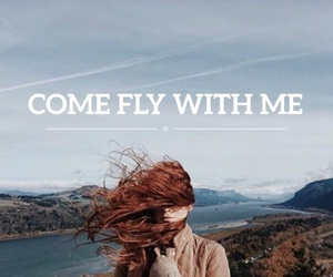 fly, quote, and girl image