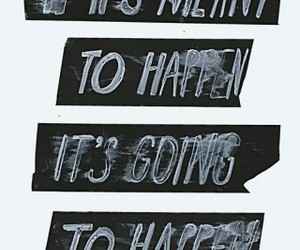 quote, text, and happen image