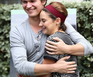 Shailene Woodley, ansel elgort, and the fault in our stars image