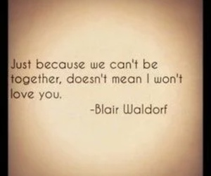 quote, love, and gossip girl image