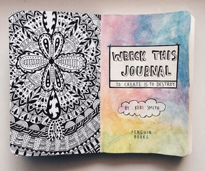 art, doodle, and journal image